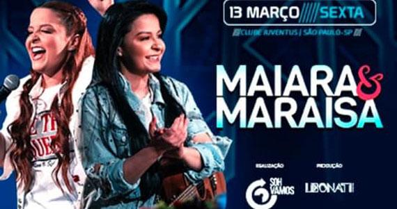 Maiara & Maraisa realiza show único no Clube Juventus Eventos BaresSP 570x300 imagem
