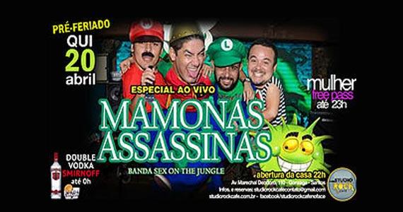 Mamonas Assassinas Cover com a banda Sex On The Jungle no Studio Rock Café Eventos BaresSP 570x300 imagem