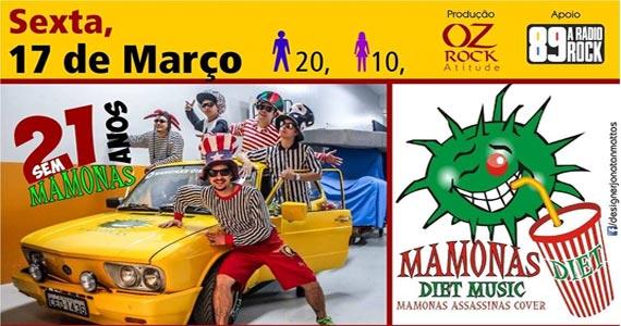 21 anos sem Manonas Assassinas com a banda Manonas Diet Cover no Casa Amarela Pub Eventos BaresSP 570x300 imagem