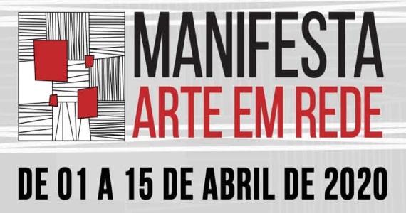 Manifesta Arte em Rede promove programação cultural online Eventos BaresSP 570x300 imagem