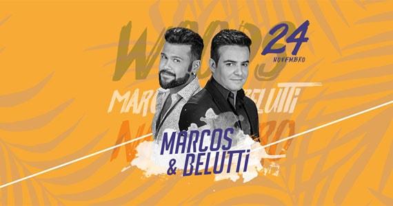 Marcos & Belutti trazem os seus maiores sucessos para o palco da Woods Bar Eventos BaresSP 570x300 imagem