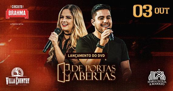 Maria Cecília e Rodolfo retornam ao Villa Country com novo DVD Eventos BaresSP 570x300 imagem