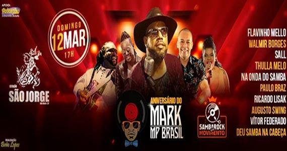 Estação São jorge recebe a comemoração de aniversário de Mark MP com show de inúmeros convidados  Eventos BaresSP 570x300 imagem