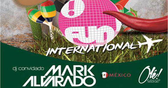 O Dj mexicano Mark Alvarado embala o Fun! Internacional da Bubu Lounge Eventos BaresSP 570x300 imagem