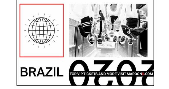 Maroon 5 volta ao Allianz Parque com abertura da banda Melim Eventos BaresSP 570x300 imagem