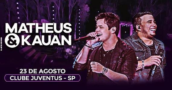 Matheus & Kauan realizam show no Clube Juventus Eventos BaresSP 570x300 imagem