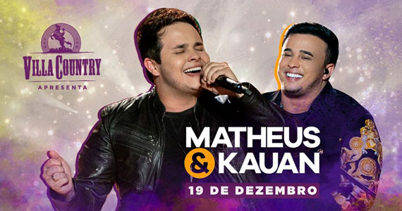 Show de Matheus & Kauan no Villa Country
