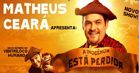 Matheus Ceará estreia o novo show A Inocência está Perdida no Teatro Shopping Frei Caneca Eventos BaresSP 570x300 imagem