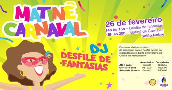 Tradicional Matinê de Carnaval 2017 no Ipê Clube agita pequenos foliões Eventos BaresSP 570x300 imagem