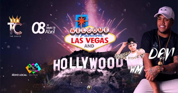 The Choice Hollywood and Vegas com os funkeiros Mc Davi e Mc WM no Caribbean Disco Club  Eventos BaresSP 570x300 imagem