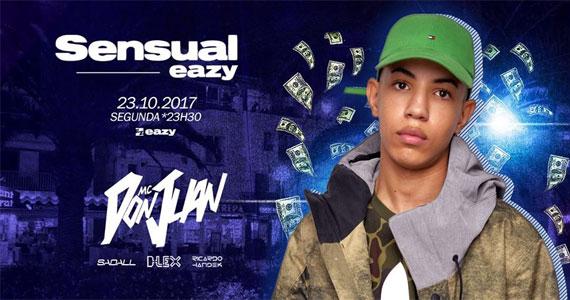 Mc Don Juan comanda a pista do Sensual Eazy, nesta segunda-feira  Eventos BaresSP 570x300 imagem