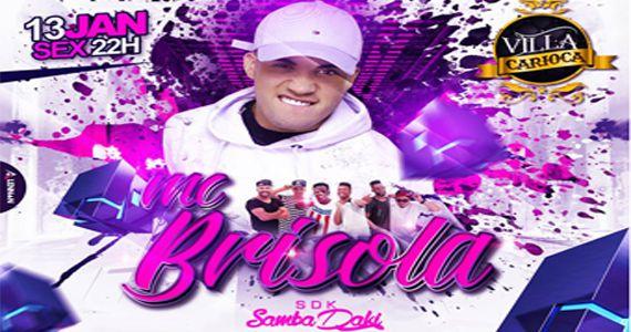 Show do Mc Brisola e Grupo Sambadaki agitam à noite no Carioca Interlagos Eventos BaresSP 570x300 imagem