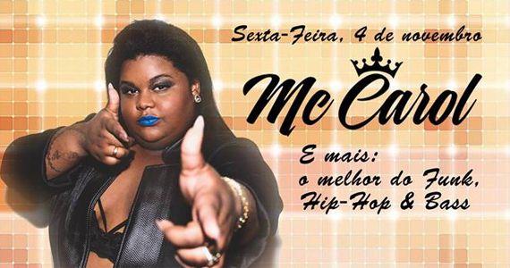 Inferno Club recebe o show da funkeira Mc Carol para agitar a noite de sexta-feira Eventos BaresSP 570x300 imagem