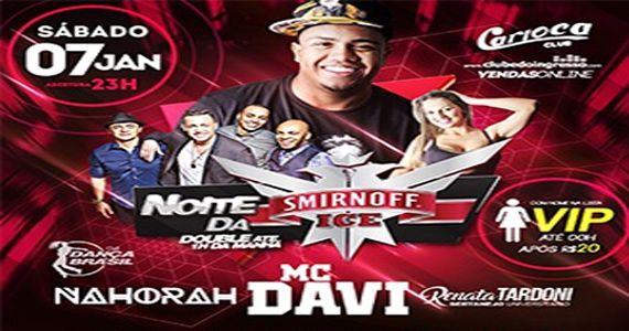 MC Davi agita a noite paulista com seu carisma e a voz inconfundível no Carioca Club Eventos BaresSP 570x300 imagem