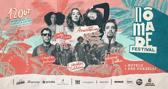 Nômade Festival convida artistas para agitar o público do Memorial Eventos BaresSP 570x300 imagem