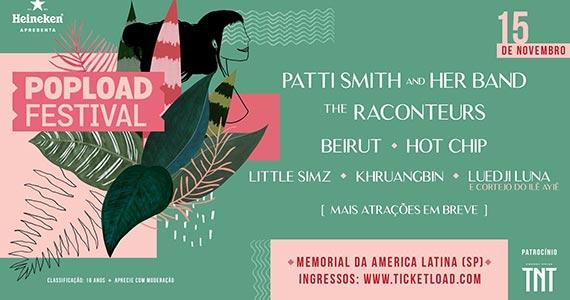 Popload Festival 2019 promete animar o Memorial da América Latina Eventos BaresSP 570x300 imagem