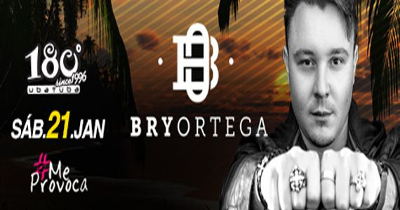 Festa #MeProvoca com edição exclusiva no 180 graus Ubatuba com o Dj Bry Ortega Eventos BaresSP 570x300 imagem