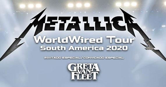 Metallica retorna a São Paulo com a turnê WorldWired Eventos BaresSP 570x300 imagem