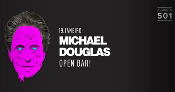 Quinta-feira tem Open Bar com Michael Douglas na Augusta 501 Eventos BaresSP 570x300 imagem