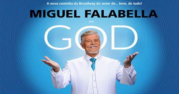 Sucesso na Broadway o espetáculo GOD chega no Teatro Procópio Ferreira para arrancar risadas Eventos BaresSP 570x300 imagem
