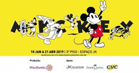 Exposição Mickey 90 anos é realizada no JK Iguatemi Eventos BaresSP 570x300 imagem