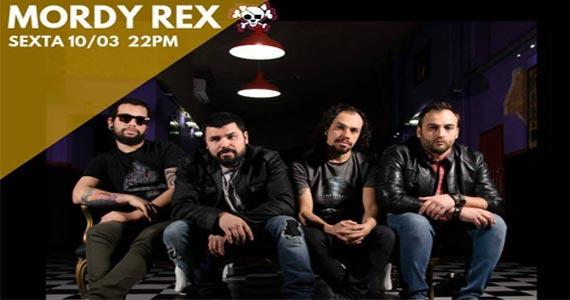 Com guitarras em punho a banda Mordy Rex toca muito rock na Casa Amarela Pub Eventos BaresSP 570x300 imagem