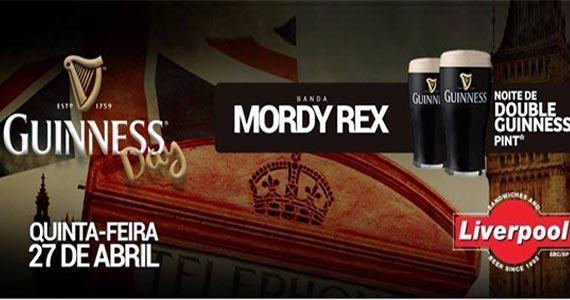Banda Mordy Rex comanda a noite com clássicos do rock no Liverpool Eventos BaresSP 570x300 imagem