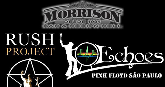 Morrison recebe Rush Project e Enchoes Pink Floyd Cover