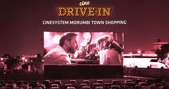 Cine Drive-In acontece no estacionamento do Morumbi Town Shopping