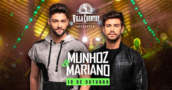 Munhoz e Mariano retornam ao Villa Country em nova turnê Eventos BaresSP 570x300 imagem