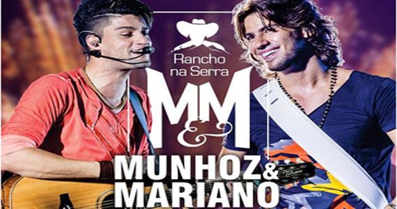 Donos dos sucessos  Camaro Amarelo Munhoz e Mariano se apresentam pela primeira vez no Rancho na Serra Eventos BaresSP 570x300 imagem