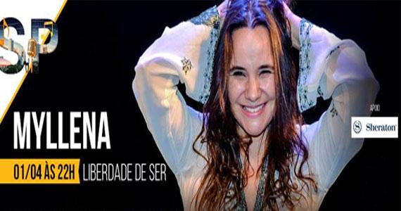 A cantora Myllena apresenta seus grandes sucessos e algumas releituras no LAtelier Eventos BaresSP 570x300 imagem