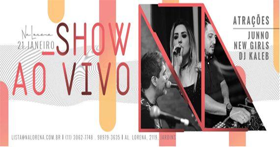 Sábado é dia de dançar e cantar com Junno, New Girls e Dj Kaleb no NaLorena Eventos BaresSP 570x300 imagem