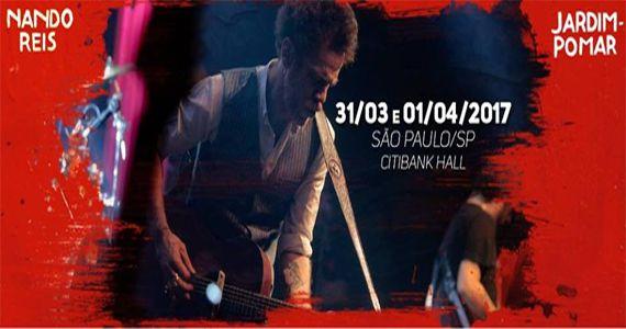 """Nando Reis e a banda Os Infernais apresentam a turnê """"Jardim-Pomar"""" no Citibank Hall Eventos BaresSP 570x300 imagem"""