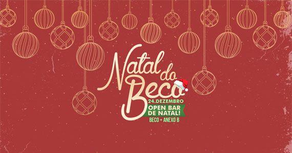 Beco 203 e o Anexo B se uniram para comemorar a Festa de Natal com Open Bar Duplo Eventos BaresSP 570x300 imagem