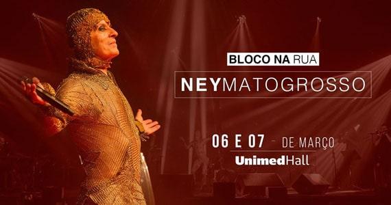 Ney Matogrosso apresenta Bloco na Rua na Unimed Hall Eventos BaresSP 570x300 imagem