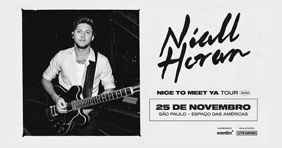 Niall Horan retorna ao Espaço das Américas com nova turnê Eventos BaresSP 570x300 imagem
