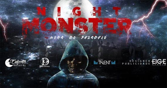 Véspera de feriado o Enfarta Madalena recebe a Night Monster com a festa temática A Hora do Pesadelo Eventos BaresSP 570x300 imagem