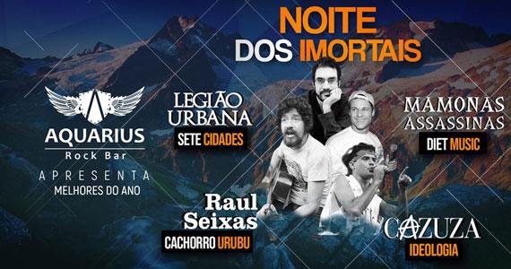 Noite dos Imortais com tributo aos grandes nomes do rock Eventos BaresSP 570x300 imagem