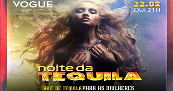 Quinta-feira é dia de Noite da Tequila com shows da Priscila Stravazi na Vogue Club  Eventos BaresSP 570x300 imagem
