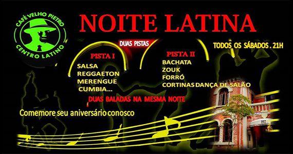 O melhor da salsa, reggaeton, merengue e muito mais na Noite Latina do Café Velho Pietro Eventos BaresSP 570x300 imagem