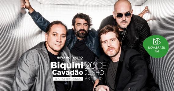 Biquini Cavadão apresenta novo álbum no Projeto NOVA no Teatro Bradesco Eventos BaresSP 570x300 imagem