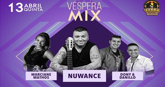 Véspera Mix com o grupo Nuwance, Marciane Mathos e Dony & Danillo no Terra Country Eventos BaresSP 570x300 imagem