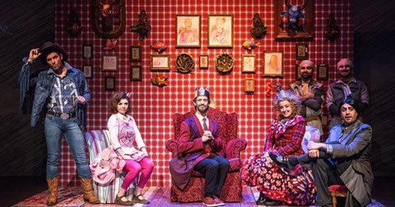 Peça O Rei e a Coroa Enfeitiçada em cartaz no Teatro Fernando Torres Eventos BaresSP 570x300 imagem
