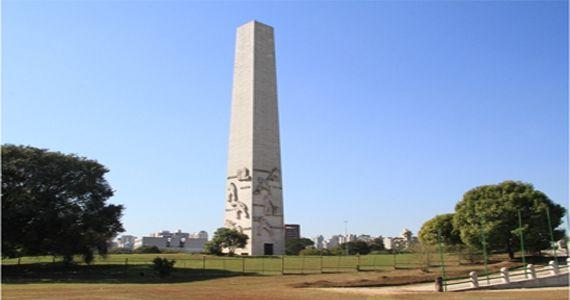 Aniversário de 463 anos de São Paulo no Obeslisco do Parque Ibirapuera com narrativa heróica da Revolução de 1932 Eventos BaresSP 570x300 imagem