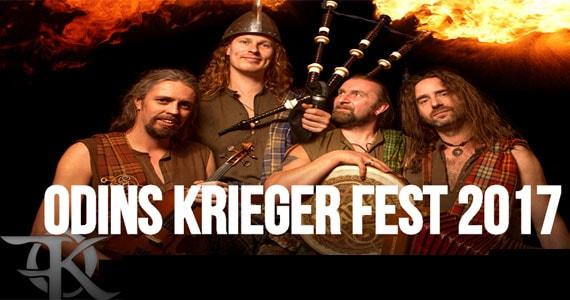 Maior festival de música viking e folk do Brasil Odins Krieger Fest 2017 no Tropical Butantã Eventos BaresSP 570x300 imagem