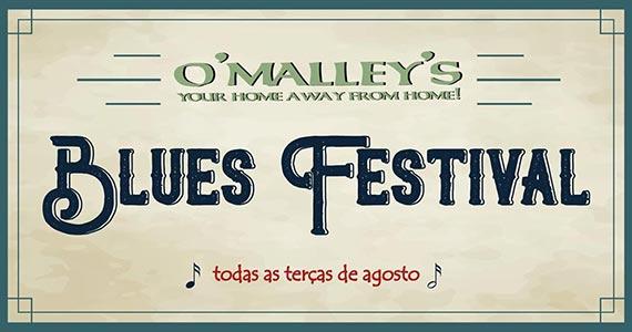 O'Malley's prepara o Blues Festival no mês de agosto Eventos BaresSP 570x300 imagem