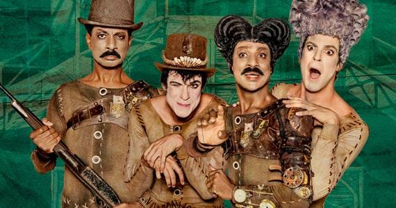 O Mistério de Irma Vap estreia no Teatro Porto Seguro com Mateus Solano e Luis Miranda Eventos BaresSP 570x300 imagem