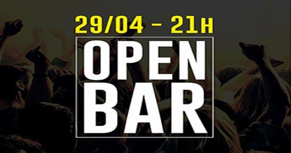 Sábado tem Open Bar com discotecagem regrada de black music, eletrônico e sertanejo no The Kings Eventos BaresSP 570x300 imagem