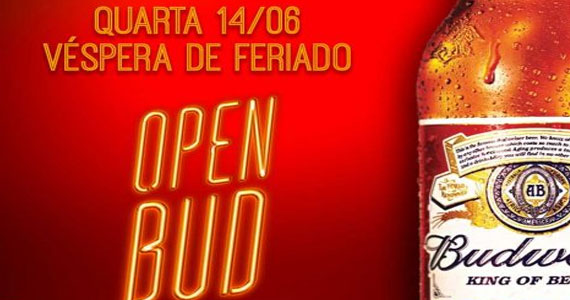 Quartas de Boteco com Open Bar de Budweiser no The Sailor Legendary Pub ao som de Cowbell Eventos BaresSP 570x300 imagem